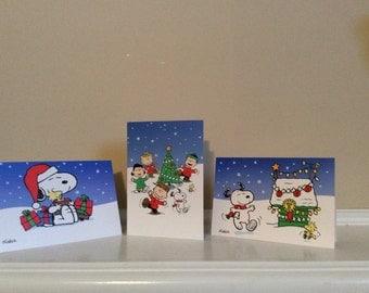Peanuts Cute Christmas Card Assortment, Hallmark.