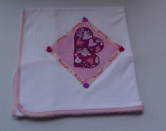 Fralda 100% algodão com patchwork / diaper 100 cotton with patchwork