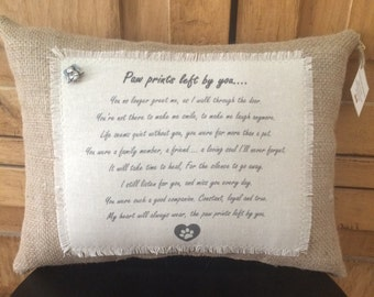 Pillows With Sayings Dogs By Woofandcompany On Etsy