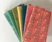 7 Fat Eighth Bundle, Riley Blake, Grunge, Dear Stella Crafting, Quilting, Sewing Fabric, Stash Builder, Farm Girl Vintage