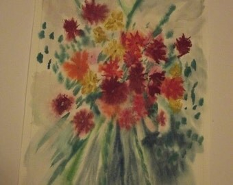 25% Off Entire Store Flowers1, original, watercolor, painting