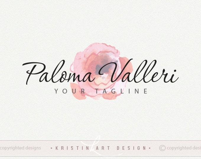 Watercolor logo design free