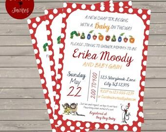 Storybook Baby Shower Invitation/Book Request