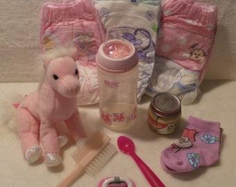 OOAK Reborn Toddler Girl set