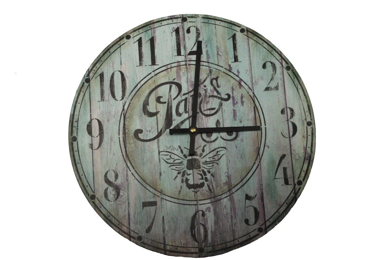 Schoolhouse Clock Stencil