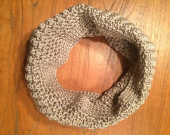 Crochet Tan Cowl
