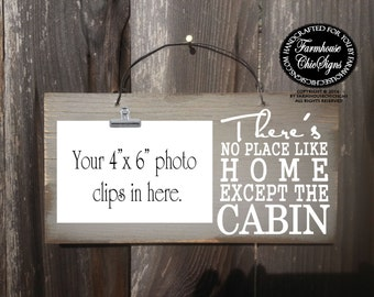 cabin decor, cabin Sign, cabin, mountain cabin, cabin decoration, no place like home cabin, cabin decorations, gift for cabin, 261