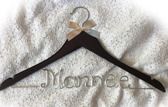 Marnee hanger,wedding hanger,Personalized Hanger,Custom hanger,wire name hanger,Bridesmaids hanger,bride hanger