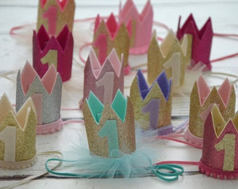 Crown headband, Baby girl headband,Infant headband, Newborn headband,Baby headband, headbands, Newborn Crown,1st Birthday Crown