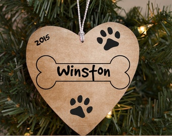 Personalized Pet Christmas Ornament Picture Frame Ornament Dog Christmas Ornament Pet Ornament Gift for Pet Lover Dog Lover