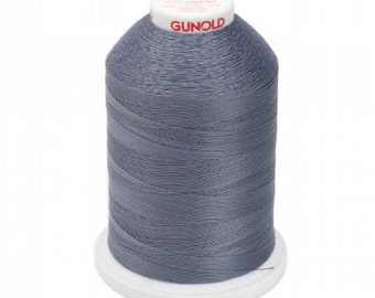 Sulky Cotton 12 Weight-3,200 Yards-Color-Smoky Grey