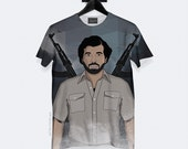 Drake Escobar T-Shirt - All Over Print - Unisex - S, M, L, XL, XXL, 3XL | Made to Order |