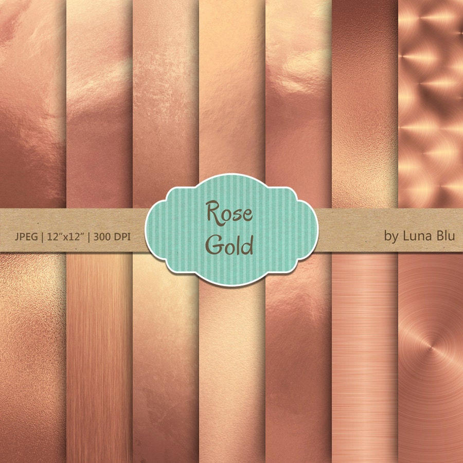 pink rose gold foil - photo #32