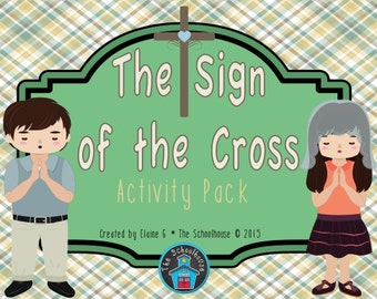 The Sign of the Cross Activity Pack