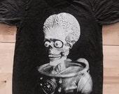 Alien Fashion Pop New Wave Fashion T-Shirt Stone Wash Low Cut M