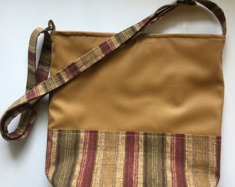 Camel with Harvest Stripe Field Ministry Tote Bag