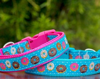 Donuts Dog Collar / Australian Made / Yum Yum