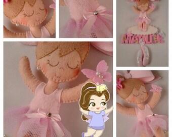 Stitchable ballerina