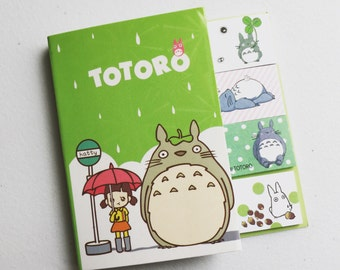 My Neighbour Totoro Sticky Notes, Ghibli Post It Notes, Reminder Notes, Memo Pad Stickers, Planner Page Marker Stickers, Kawaii Stationery