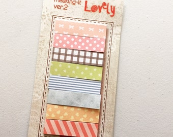 Sticky Notes, Post It Notes, Reminder Notes, Memo Pad Stickers, Planner Page Marker Stickers, Kawaii Stationery, Planner Supplies