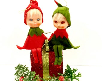Red Suit Pixie Etsy