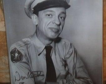 Vintage Signed Don Knots Picture