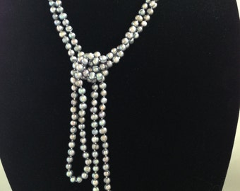 Grey Fresh Water Pearl Strand