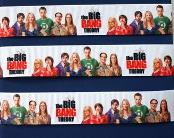 The Big Bang Theory Ribbon - Cake Decorating Crafts Hair Bow Wrapping New 1 Metre LB24