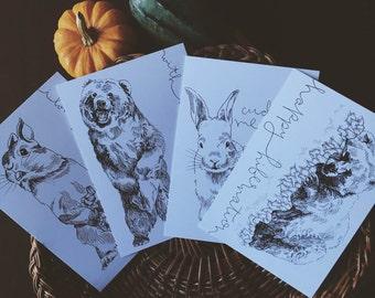 Postcard 4-Pack