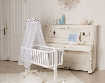 PuckDaddy baby crib 90 x 40 cm, also usable as bed for kids