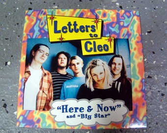 Letters to Cleo - Here And Now - CD Single - 1994