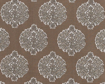 Madras Bisque ,Fabric By The Yard, Lacefield Fabrics