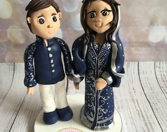 Asian/Indian Wedding Cake Topper - Keepsake