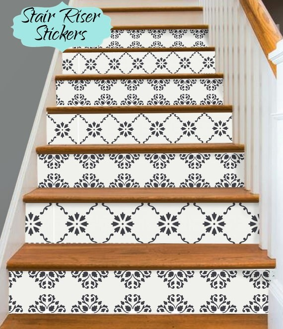 Peel Und Stick Steinoptik Vinyl Bodenbelag Fliesen: 15steps Stair Riser Vinyl Strips Removable Sticker Peel