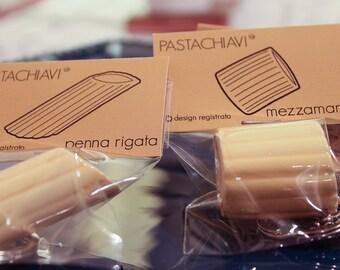 Pastachiavi 6 ceramic package mixed: 2 2 rigatoni, penne, 2 half sleeves