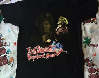 Vintage 1991-92 Rod Stewart Vagabond Heart Concert Tshirt