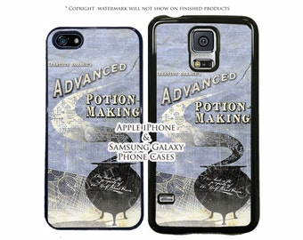 Harry Potter Half Blood Prince Potion Book Phone Case For Samsung Galaxy S3, S4, S5, S6, S6 Edge, Note 3, Note 4 Phone Case