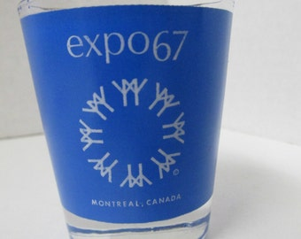 Vintage Montreal Canada EXPO 67 Shot Glass