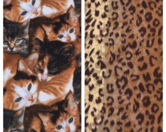 Fleece Cat Blanket(C32,41)