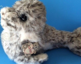 "Vintage Gund Plush Seal 1989 ""Scooba"" #3290 Collector's Classic"