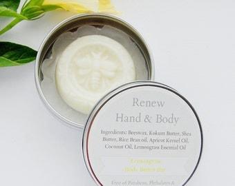 Lemongrass Body Butter Bar 1 oz.