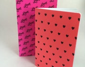 Neon Valentine's Day Bundle Travelers Notebook Journal - Available in 5 sizes
