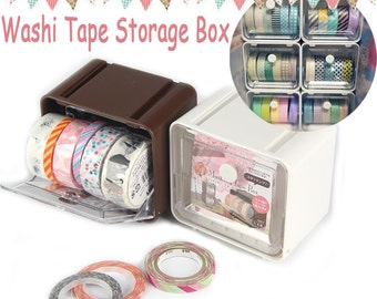Washi tape Storage Case / Masking Tape Organizer / Washi Tape Holder(Buy 5 get 6th free!!) TZ332