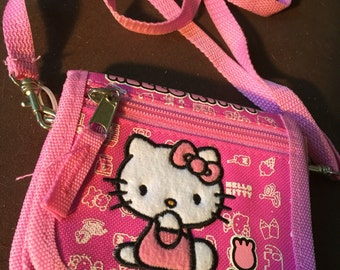 Vintage Hello Kitty Shoulder Bag Purse