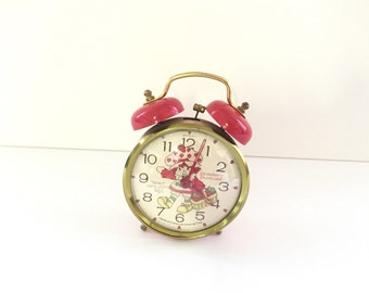 Strawberry Shortcake Alarm Clock