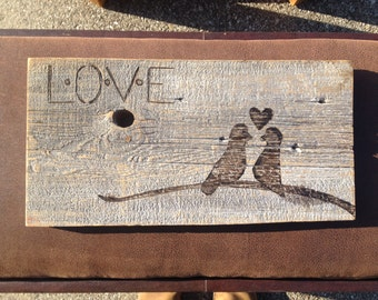 Love Birds Wall Art