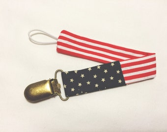 American Pacifier Clip