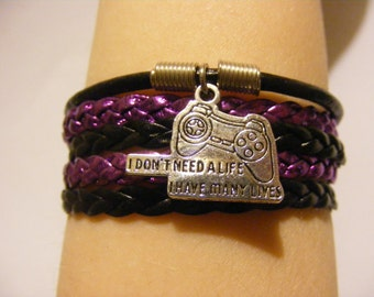 Gamer bracelet, gamer jewelry, geeky bracelet, geeky jewelry, video game bracelet, video game jewelry, fashion bracelet, fashion jewelry