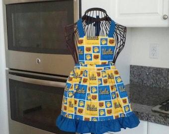 Girls UCLA apron