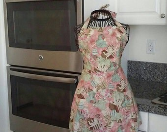 Vintage Valentine apron!
